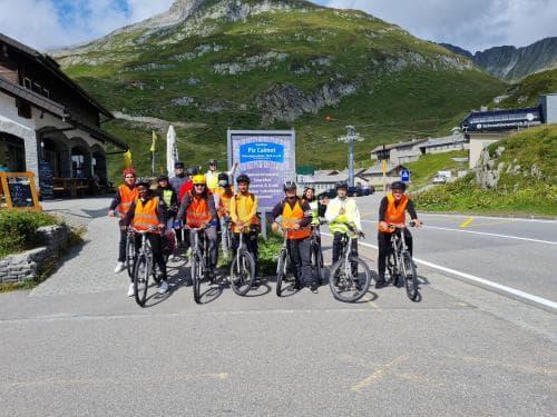 Fahrradwoche der Zukunftsbrücke