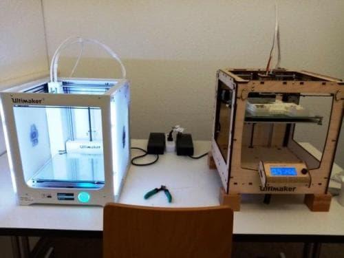 Sonderwoche 3D Druck und Bauhaus