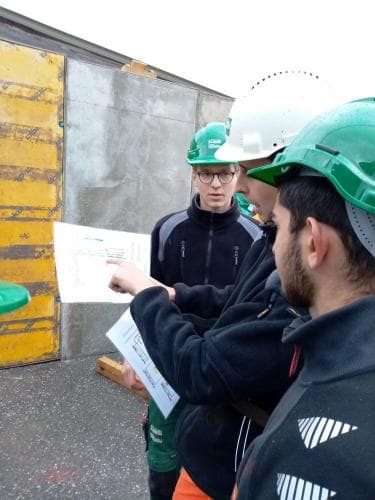 Sonderwoche Bau Werkklasse